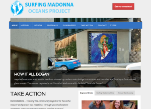 Screenshot of SurfingMadonna.org